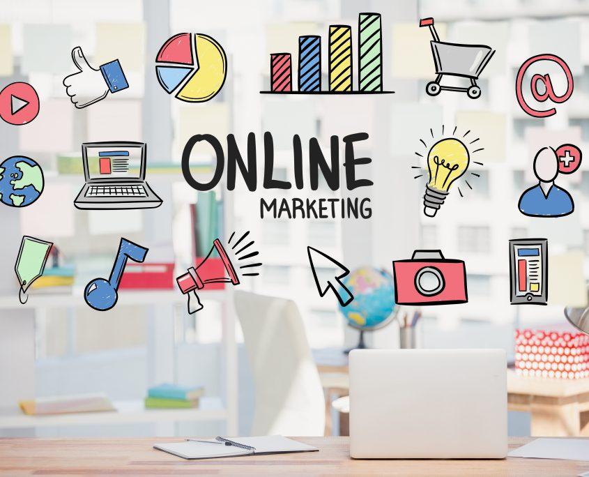 Infografía Online Marketing